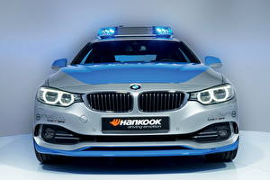 Pictures BMW Front Headlights Light Blue 2013 428i Police version Schnitzer automobile