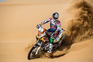Wallpapers Desert Sand Helmet Sport
