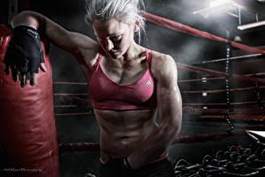 Fonds d'écran Boxe anglaise sportives Filles