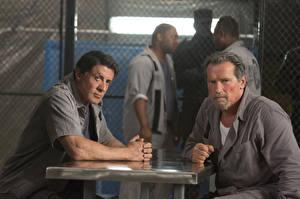 Papel de Parede Desktop Homem Arnold Schwarzenegger Sylvester Stallone Escape Plan Filme Celebridade