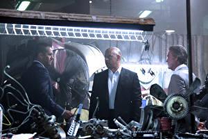 Bakgrundsbilder på skrivbordet The Fast and the Furious En man Paul Walker Vin Diesel Filmer Kändisar