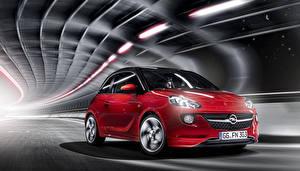 Hintergrundbilder Opel Rot 2013 Adam