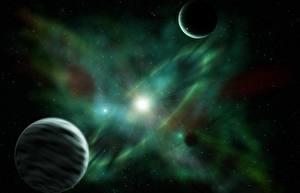 Fotos Planeten Supernova Weltraum 3D-Grafik
