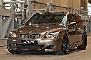 Photo BMW Tuning Metallic Headlights 2014 G-Power M5 Hurricane RR Cars