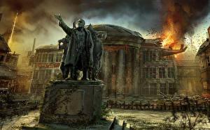 Bilder Singularity Weltuntergang Flamme Denkmal Spiele