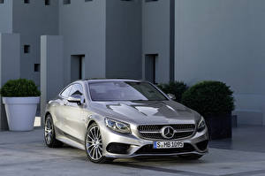 Pictures Mercedes-Benz Silver color Metallic 2014 S500 4Matic Edition auto