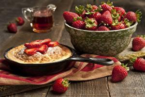 Hintergrundbilder Backware Obstkuchen Erdbeeren Tasse Lebensmittel