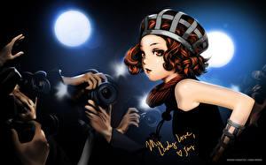 Fotos Range Murata Rotschopf Fotoapparat Anime Mädchens