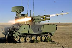 Photo Missile launchers Firing