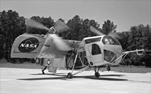 Bilder Wandelflugzeug NASA VZ-2