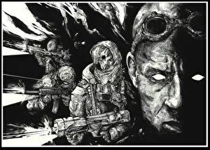 Images Riddick film Warrior Glasses Face