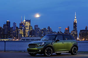 Photo Mini Tuning Houses Green 2014 Countryman Cooper SD Cars Cities