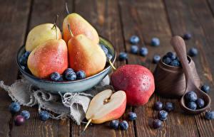 Wallpaper Pears Blueberries Cup