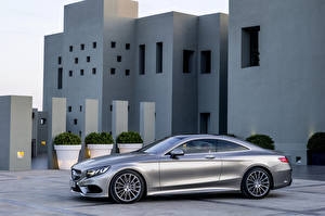 Image Mercedes-Benz Silver color Side 201 S500 C217 4Matic auto