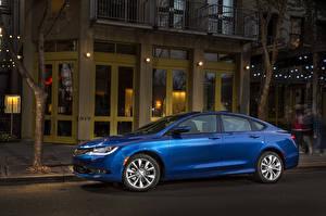 Image Chrysler Side Blue Sedan 2015 200 sedan automobile