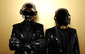 Pictures Two Helmet Daft Punk Music