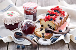 Desktop hintergrundbilder Backware Konfitüre Keks das Essen