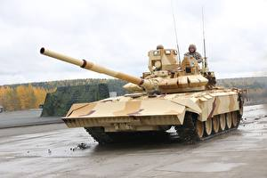 Photo Tank T-72 City T-72 Army