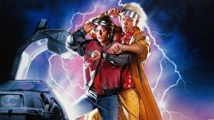 Image Back to the Future Man Lightning film Celebrities