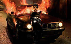 Image Flame BMW The Girl Who Played with Fire film Girls Celebrities