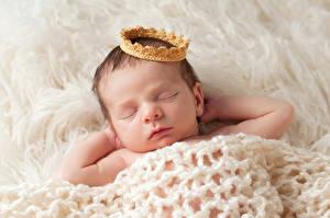 Fotos Krone Säugling Schlafen kind