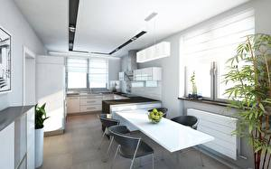 Pictures Kitchen Design Table Chairs High-tech style