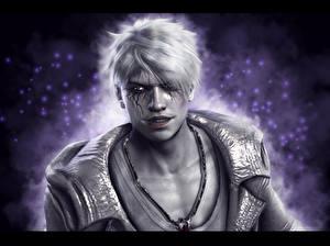 Papel de Parede Desktop Devil May Cry Dante Homem Dante videojogo