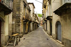 Sfondi desktop Italia La casa Sicilia Via della città Messina