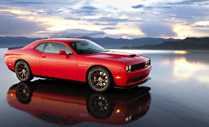 Picture Dodge Tuning Red 2015 Challenger SRT Supercharged (HEMI Hellcat) auto