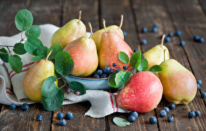 Picture Fruit Pears Blueberries