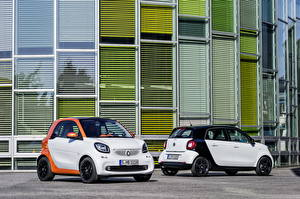 Pictures Tuning Smart 2 White 2014 ForFour automobile