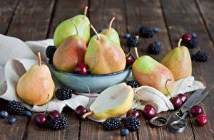 Images Fruit Pears Cherry Blackberry