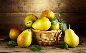Image Fruit Pears Wicker basket