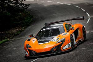 Sfondi desktop McLaren Tuning Arancione 2014 650S GT3 Auto