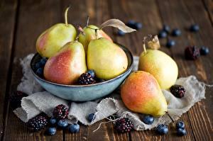 Wallpapers Pears Blackberry Blueberries Food