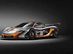 Sfondi desktop McLaren Tuning Metallizzato Grigia 2014 P1 GTR automobile
