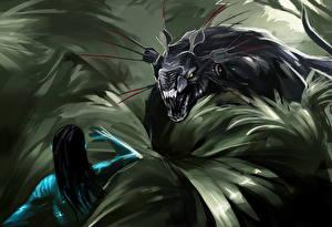 Wallpaper Avatar Thanator of pandora
