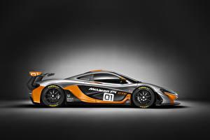 Sfondi desktop McLaren Tuning Grigio Accanto 2014 P1 GTR macchine