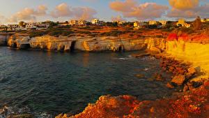 Pictures Cyprus Coast Building Pegeia Cities
