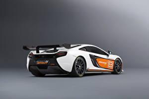 Sfondi desktop McLaren Tuning Bianco Vista posteriore 2014 650S Sprint macchine