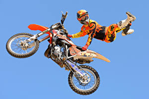 Pictures Motorcyclist Sport Motorcycles