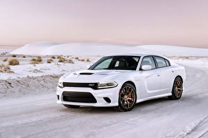 Image Dodge Tuning White Snow 2015 Charger SRT Hellcat auto