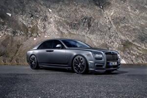 Fotos Rolls-Royce Graue Luxus 2014 Ghost (Spofec) auto
