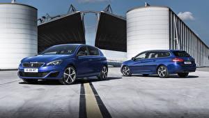 Pictures Peugeot 2 Blue Metallic 2015 308 GT Cars