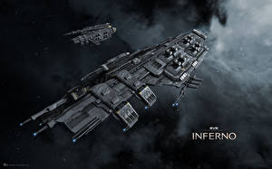 Images Ships EVE online Drake vdeo game Space Fantasy 3D_Graphics
