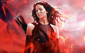 Desktop wallpapers Jennifer Lawrence The Hunger Games The Hunger Games 2: Catching Fire Archers Movies Celebrities Girls