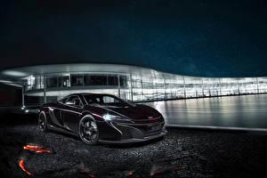 Sfondi desktop McLaren Tuning Costoso Nero 2014 MSO 650S Coupe autovettura