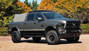 Bilder Dodge Fahrzeugtuning Graue 2014 Ram 2500 Outdoorsman Autos