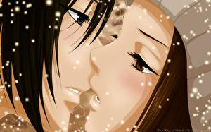 Pictures Love Kisses 2 Face suki-tte ii na yo, tachibana mei, kurosawa yamato Anime Cars