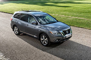 Fotos Nissan Graue Metallisch 2015 Pathfinder auto
